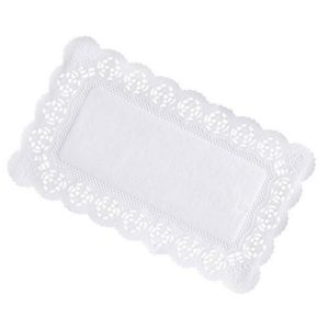 Салфетки ажурные бумажные 25 х 37 см 10шт