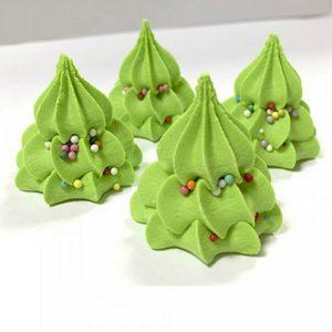 Сахарные фигурки Елочка зеленая 10 шт
