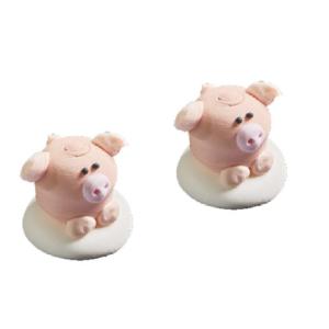 Сахарные фигурки Свинка 8 шт