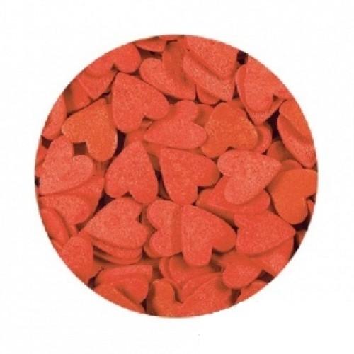 Сердечки Красные большие 100 гр