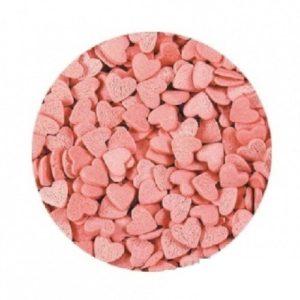 Сердечки Розовый перламутр 100 гр