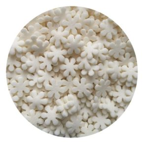 Снежинки белые 100 гр