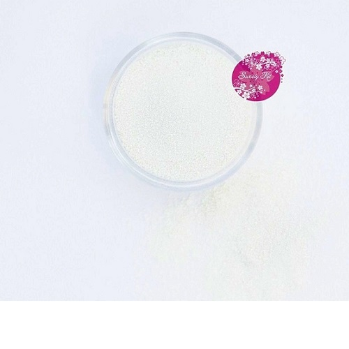 Съедобные блестки Sweety Kit Белые мелкие 5 гр