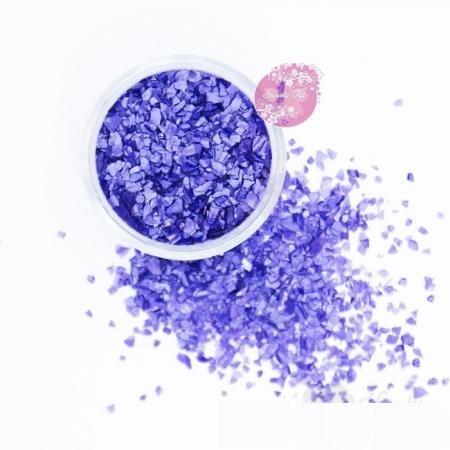 Съедобные блестки Sweety Kit Виолет крупные 5 гр