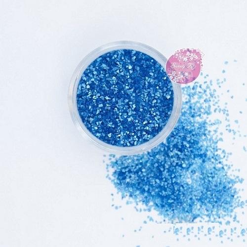 Съедобные блестки Sweety Kit Голубые средние 5 гр