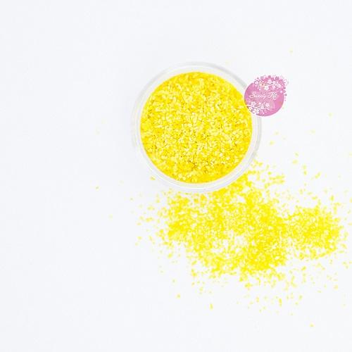 Съедобные блестки Sweety Kit Желтые крупные 5 гр
