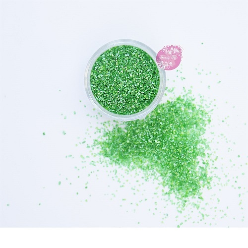 Съедобные блестки Sweety Kit Зеленый лес средние 5 гр