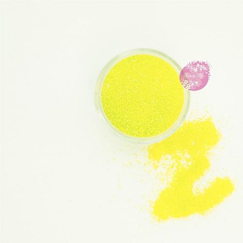 Съедобные блестки Sweety Kit Лимонные мелкие 5 гр