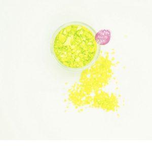 Съедобные блестки Sweety Kit Лимонные средние 5 гр