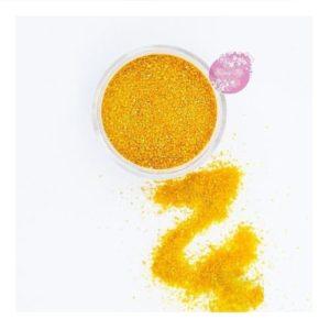 Съедобные блестки Sweety Kit Оранжевые мелкие 5 гр