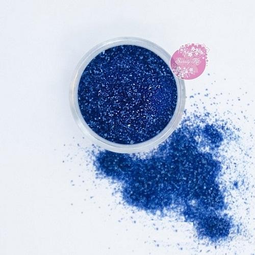 Съедобные блестки Sweety Kit Синие мелкие 5 гр