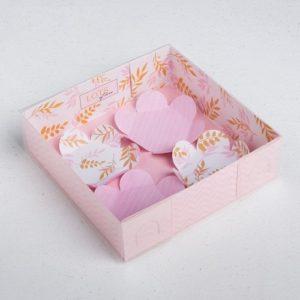 Упаковка для макарун Lots of love