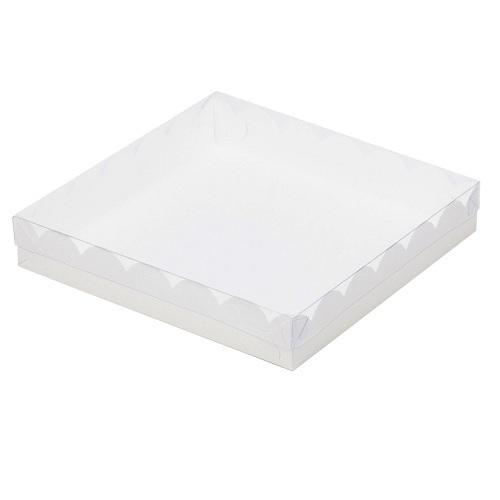 Упаковка для пряников Белая 15,5х15,5х3,5 см
