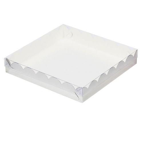 Упаковка для пряников Серебро 15,5х15,5х3,5 см