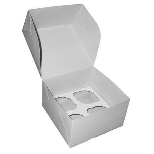 Упаковка на 4 капкейка