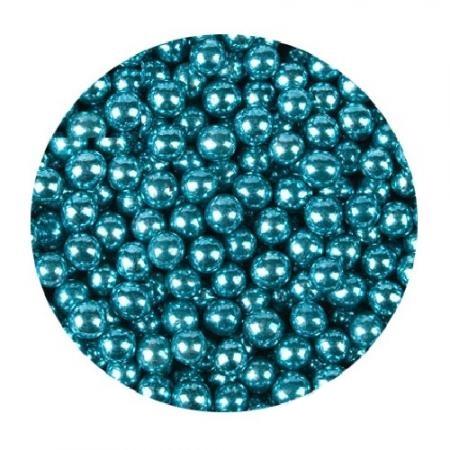 Шарики Голубые металл 5 мм 100 гр