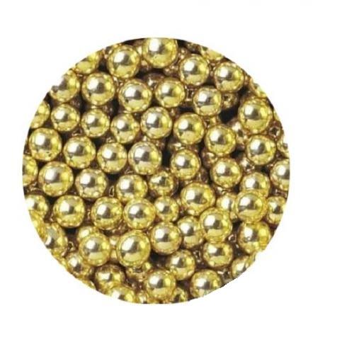 Шарики Золото 5 мм 100 гр