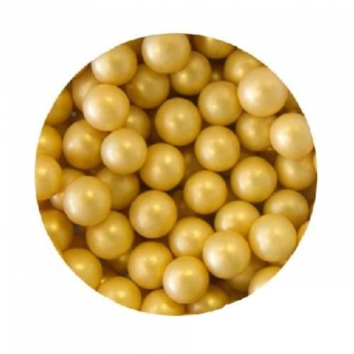 Шарики Золото 8 мм 100 гр