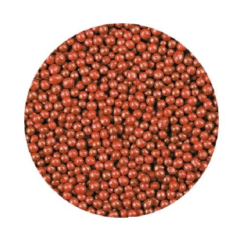 Шарики Красные перламутровые 2 мм 1 кг