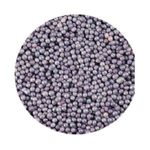 Шарики Лиловые перламутровые 2 мм 100 гр