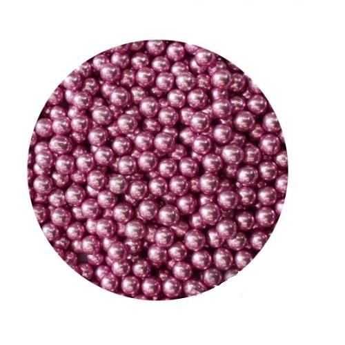 Шарики Розовые металл 5 мм 1 кг