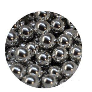 Шарики Серебро 7 мм 100 гр