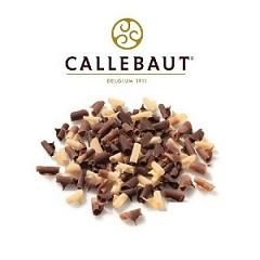 Шоколадная стружка мраморная Barry Callebaut 100 гр