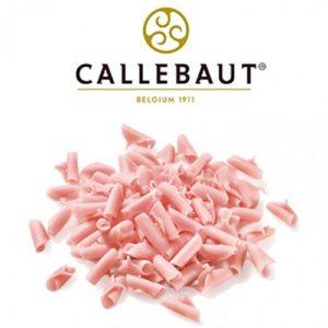 Шоколадная стружка розовая Barry Callebaut 1 кг