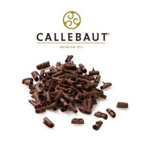 Шоколадная стружка темная Barry Callebaut 100 гр