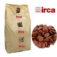 Шоколад молочный 30% какао Irca 5 кг