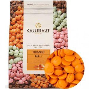 Шоколад со вкусом апельсина Barry Callebaut в галетах, 2,5 кг