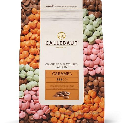 Шоколад со вкусом карамели Barry Callebaut 200 гр