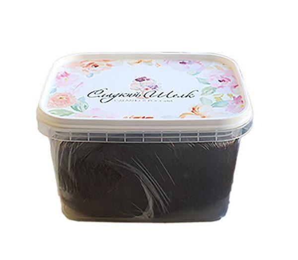 Мастика Сладкий шелк коричневая 0,25 кг