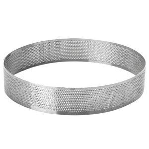 Форма перфорированная круглая d 18 см h 2 см