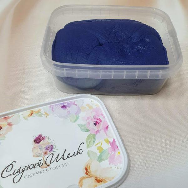 Мастика Сладкий шелк темно-синяя 0,5 кг