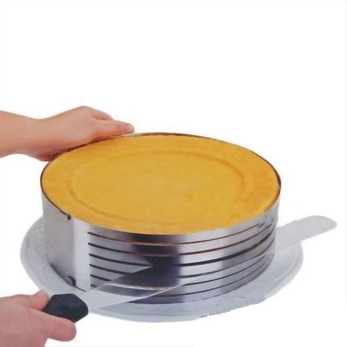 Кольцо раздвижное с прорезями для нарезки 15-20 см
