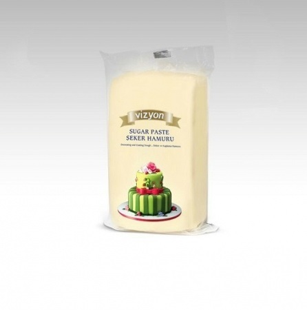 Сахарная мастика Polen Vizyon бежевая 0,5 кг