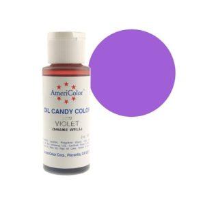 Краситель пищевой Americolor Candy Violet (фиолетовый), 56гр.