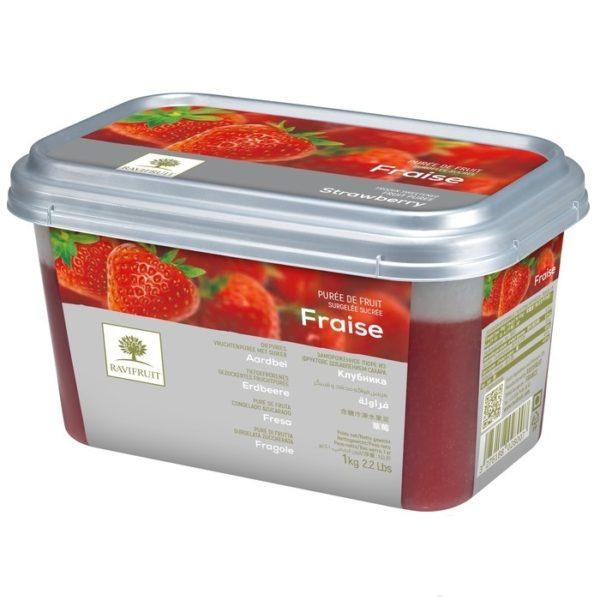 Пюре клубника Ravifruit 1 кг