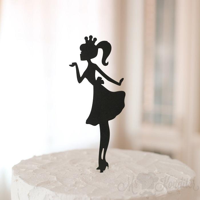Девушка топпер на торт