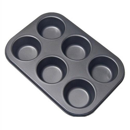 Форма для выпечки капкейков 6 шт