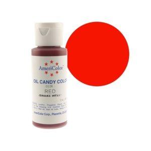 Краситель пищевой Americolor Candy Red (красный), 56гр.