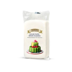 Сахарная мастика Polen Vizyon белая 0,5 кг