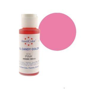 Краситель пищевой Americolor Candy Pink (розовый), 56гр.