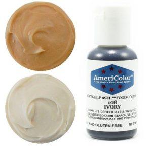 Краситель пищевой AmeriColor Ivory (Слоновая кость) 21 гр