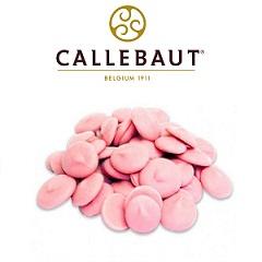 Шоколад со вкусом клубники Barry Callebaut 0.2 кг