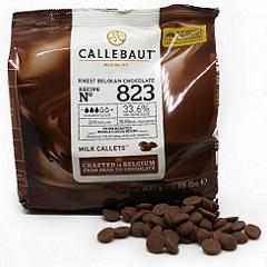 Бельгийский молочный шоколад 33.6% Barry Callebaut 0.4 кг