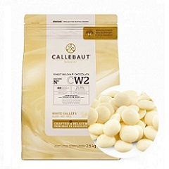 Белый бельгийский шоколад 25.9% Barry Callebaut 2.5 кг