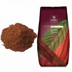 Какао-порошок алкализованный 22-24% Extra Brute Cacao Barry 1 кг