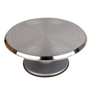 Поворотный стол металлический 36 см h 11 см